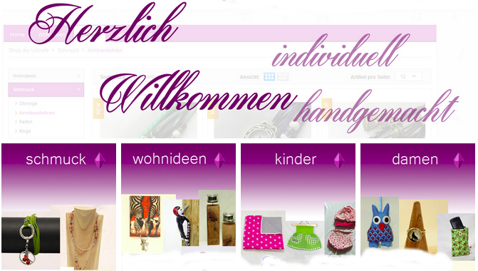 Shopvorstellung: Shop der Unikate (Screenshot)