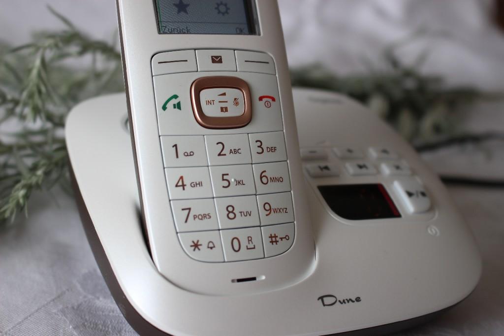 Designtelefon Gigaset Dune CL 540A: Test, Erfahrung