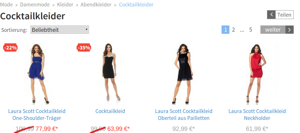 Screenshot: Netzshopping_4
