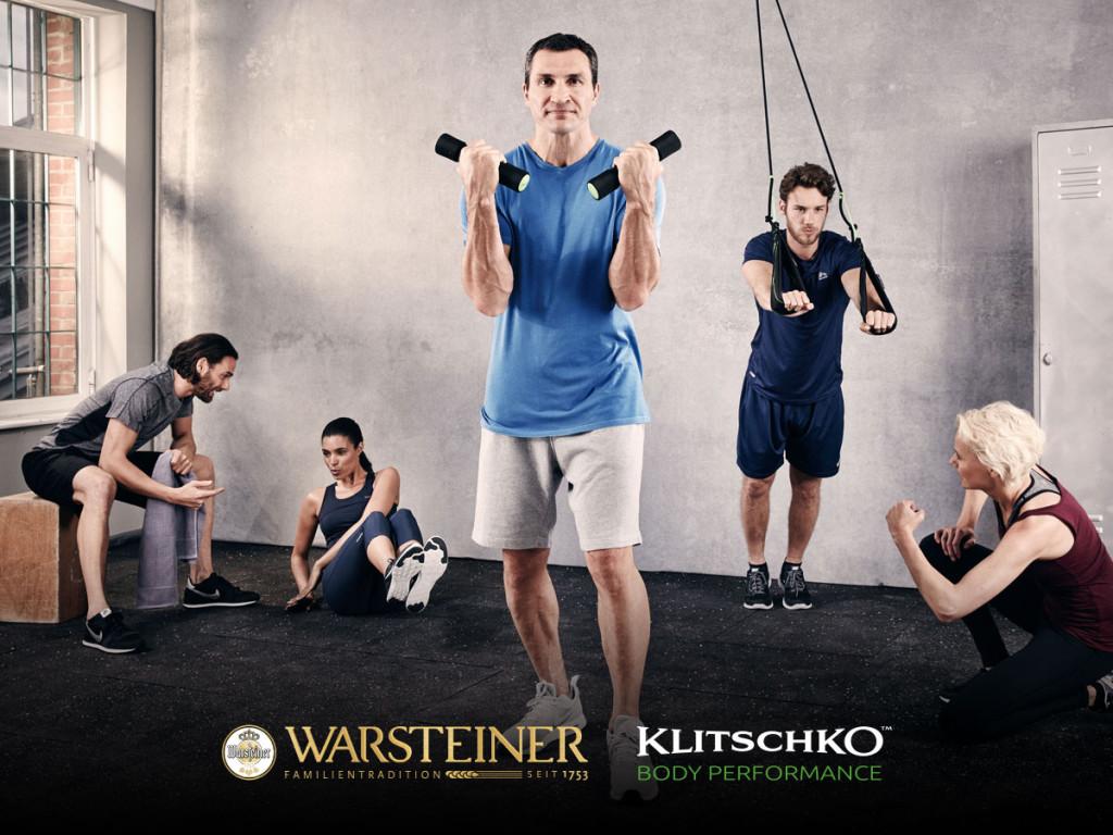 Klitschko: Warsteiner Body-Challenge