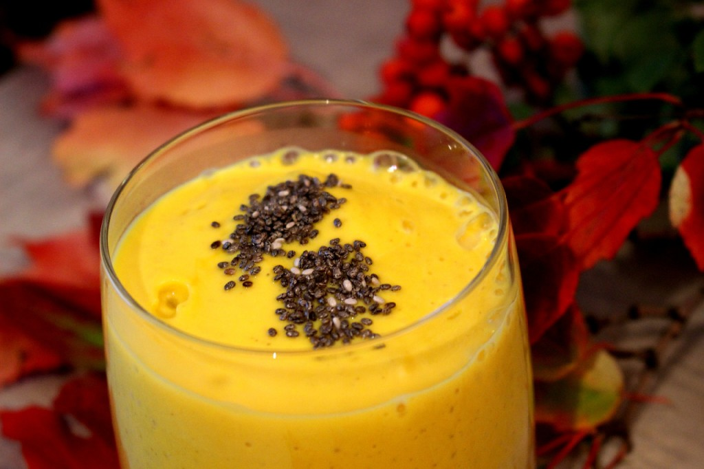 Rezept_Herbst_Kürbis_Superfood_Smoothie_Kokosblütenzucker:_Chica_Samen_Dessert_Winter_Luxury