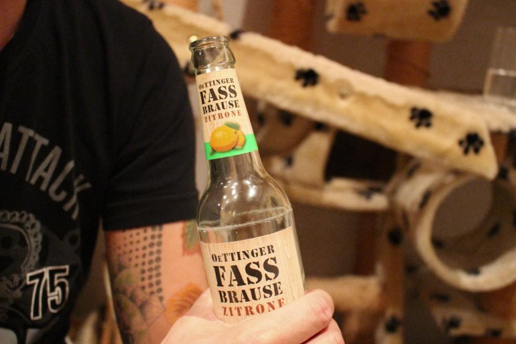 Oettinger-Fassbrause-Zitrone-Geschmack-Test