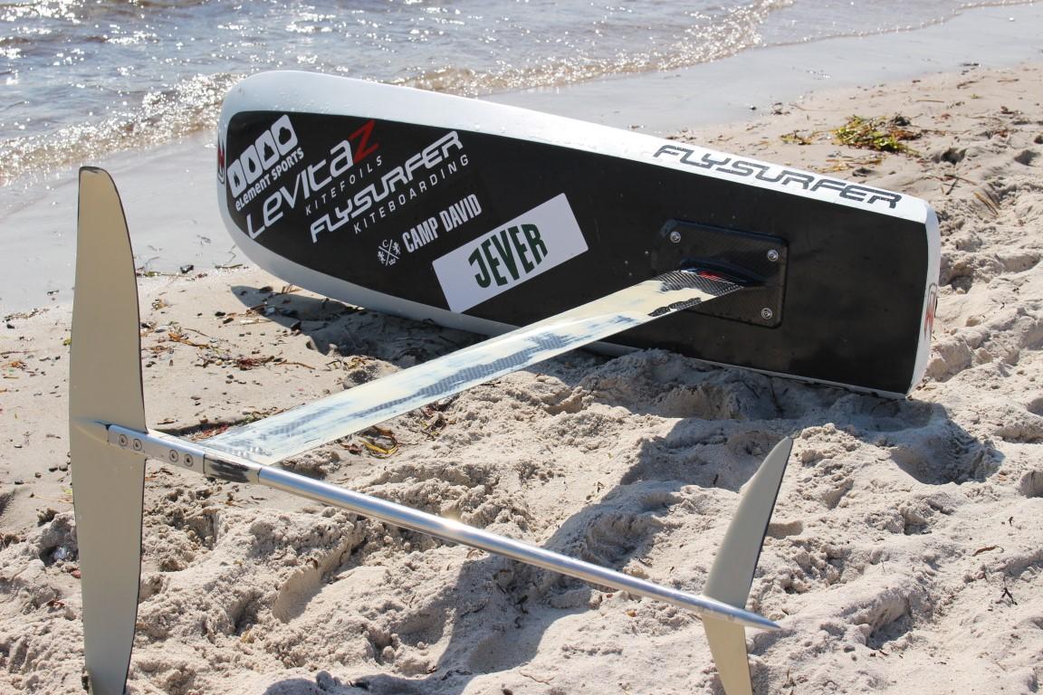 KiteFoil - Wettkampf mit dem Foilboard beim Kitesurf World Cup auf Fehmarn