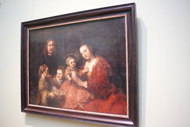 Rembrandt - Familienbild im HAUM