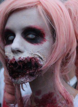 Die gruseligsten Halloween-Kostüme der Freakshow und Parade im Safaripark Stukenbrock