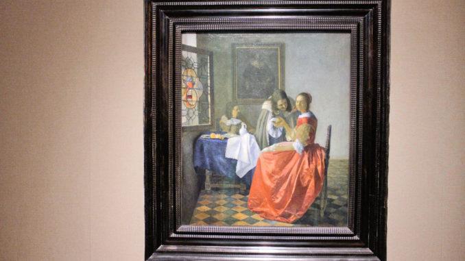 Das Mädchen mit dem Weinglas - Vermeer im HAUM
