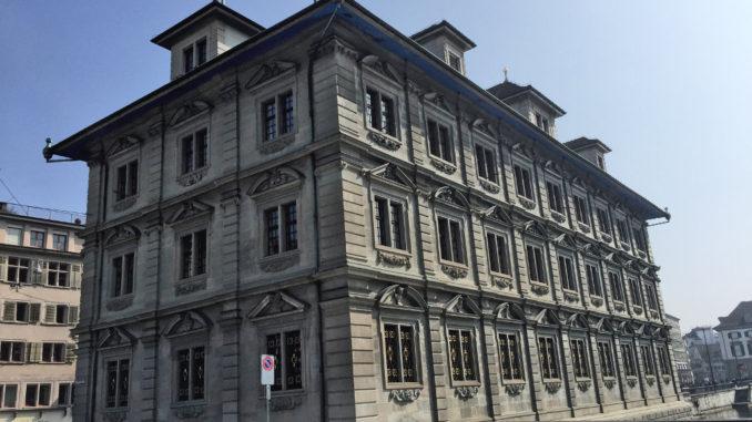 Das Zürcher Rathaus