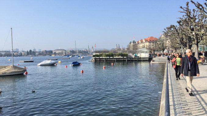 Promenade am Zürichsee
