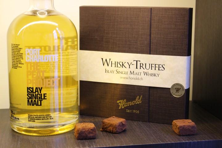 Whisky Truffes Confisserie Honold - Schweizer Schokolade Geheimtipp