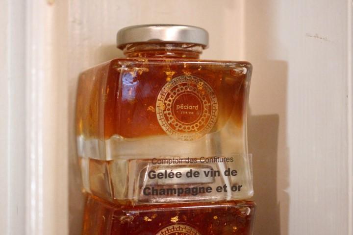 Champagner Gelee der Confiserie Thober in Zürich