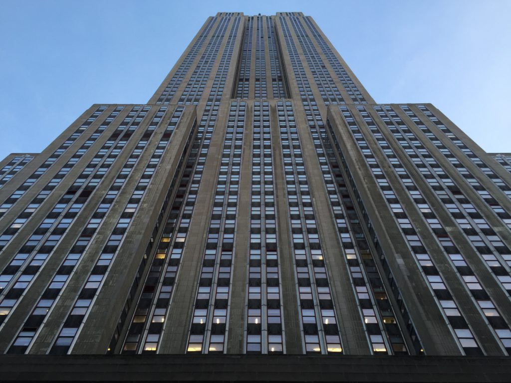 Frontansicht Empire State Building