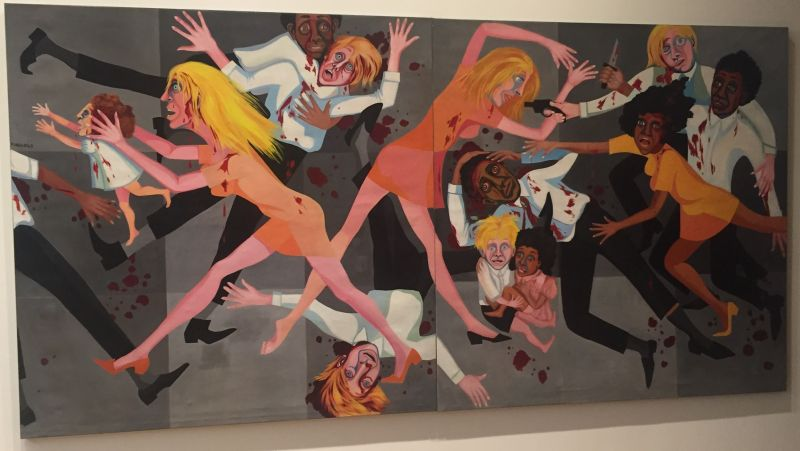 Faith Ringgold - Die, 1967, MoMa New York