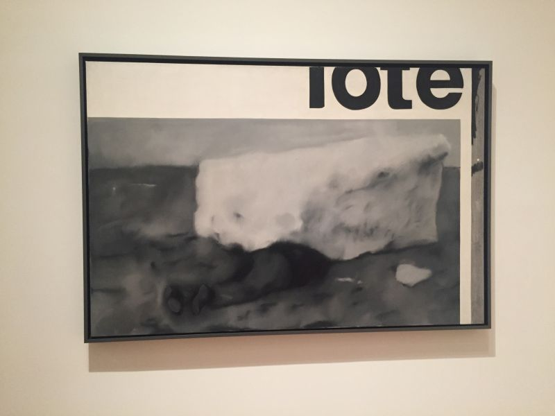Gerhard Richter - Tote, 1963, MoMa New York