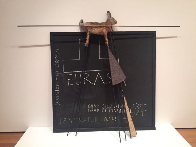Joseph Beuys - Eurasia Siberian Symphony, 1963, MoMa New York