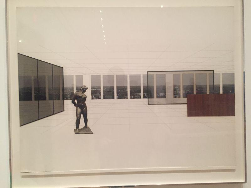 Ludwig Mies van der Rohe - Sketch Museum Georg Schäfer, ca. 1960-63, MoMa New York