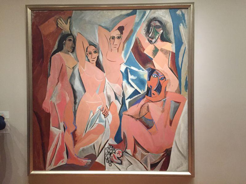 Pablo Picasso - Les Demoiselles d'Avignon, 1907, MoMa New York