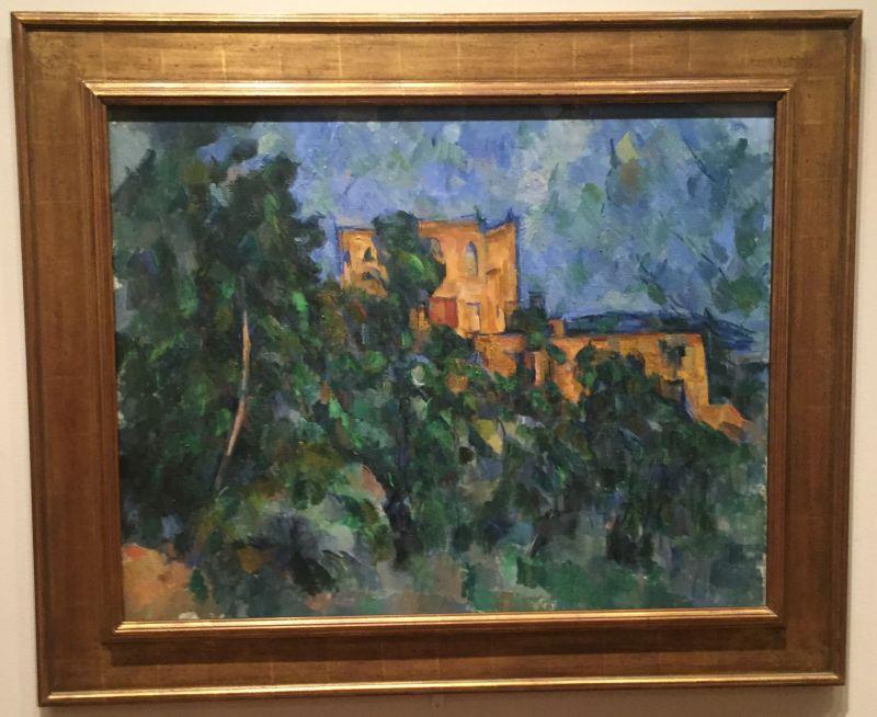 Paul Cézanne - Château Noir, 1903/04, MoMa New York