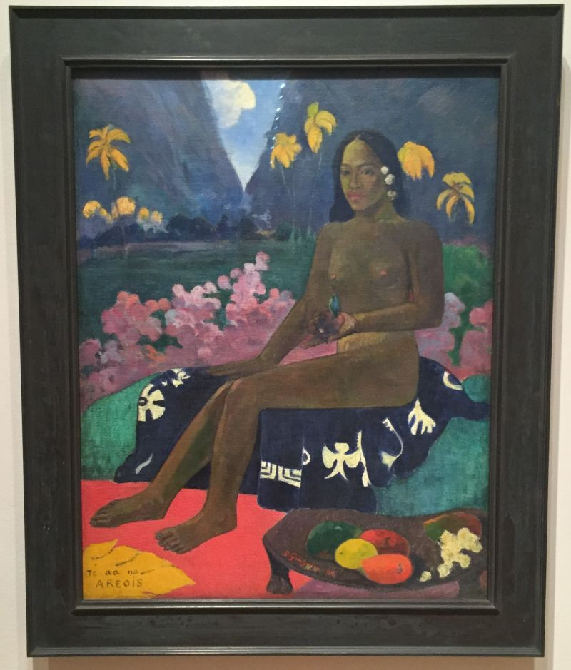 Paul Gauguin - The Seed of the Areoi, 1892, MoMa New York