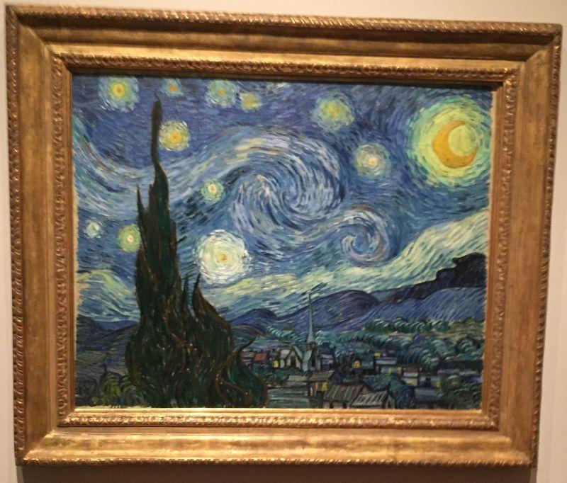 Vincent van Gogh - Sternennacht, 1889, MoMa New York