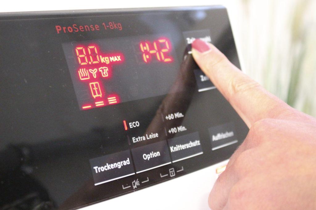 Display Lavatherm Wärmepumpentrockner