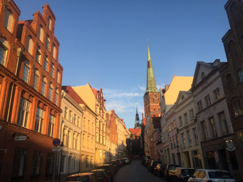 Lübecker Straßenzug