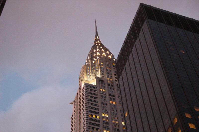 Spitze des Chrysler Building