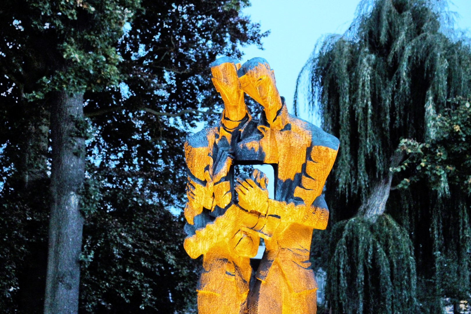 Statue in Zundert / Brabant