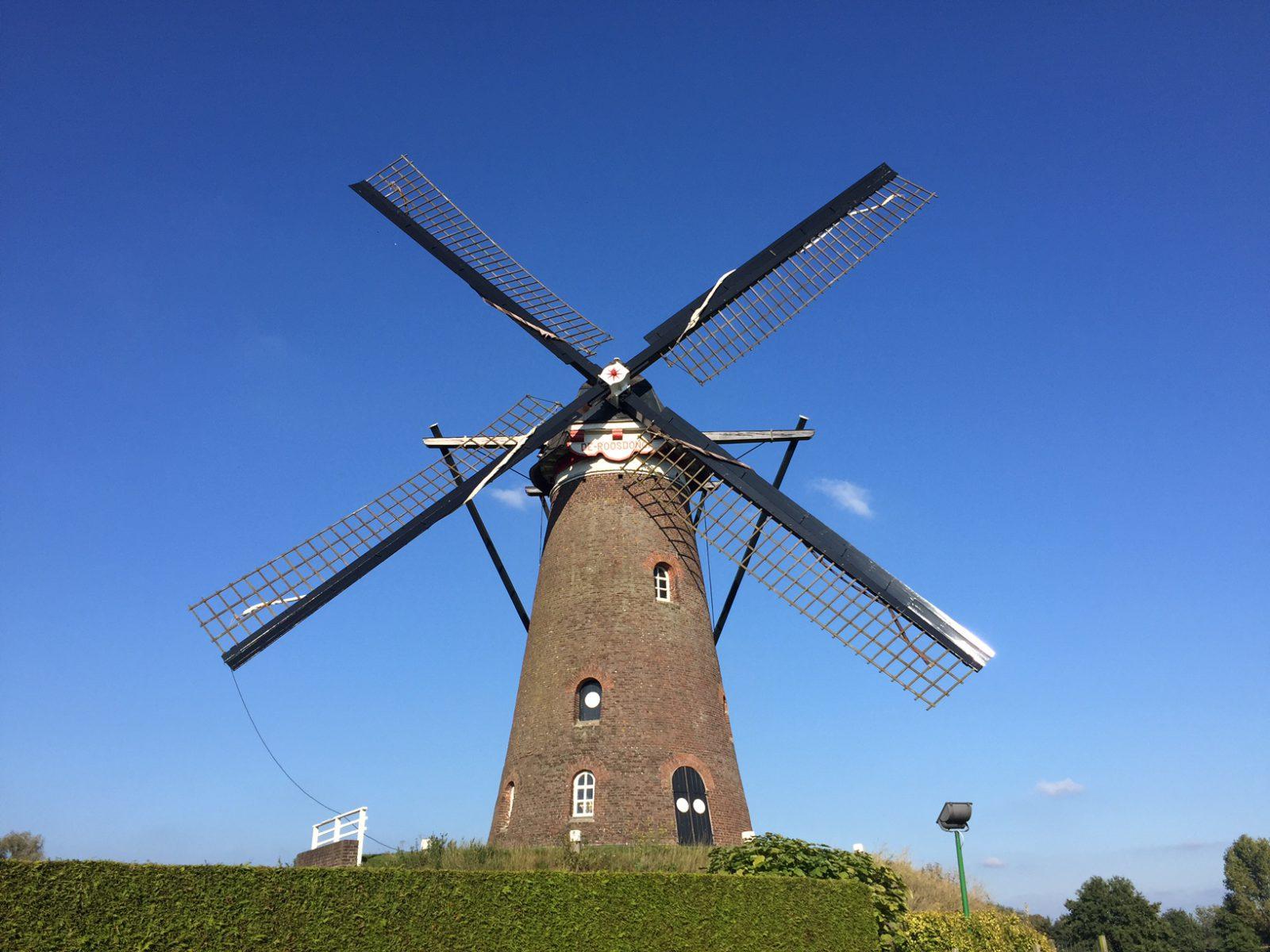 De Roosdonck - Bergholländer-Mühle bei Nuenen