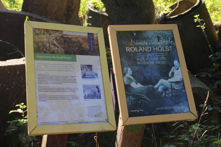 Auf den Spuren von Roland Holst