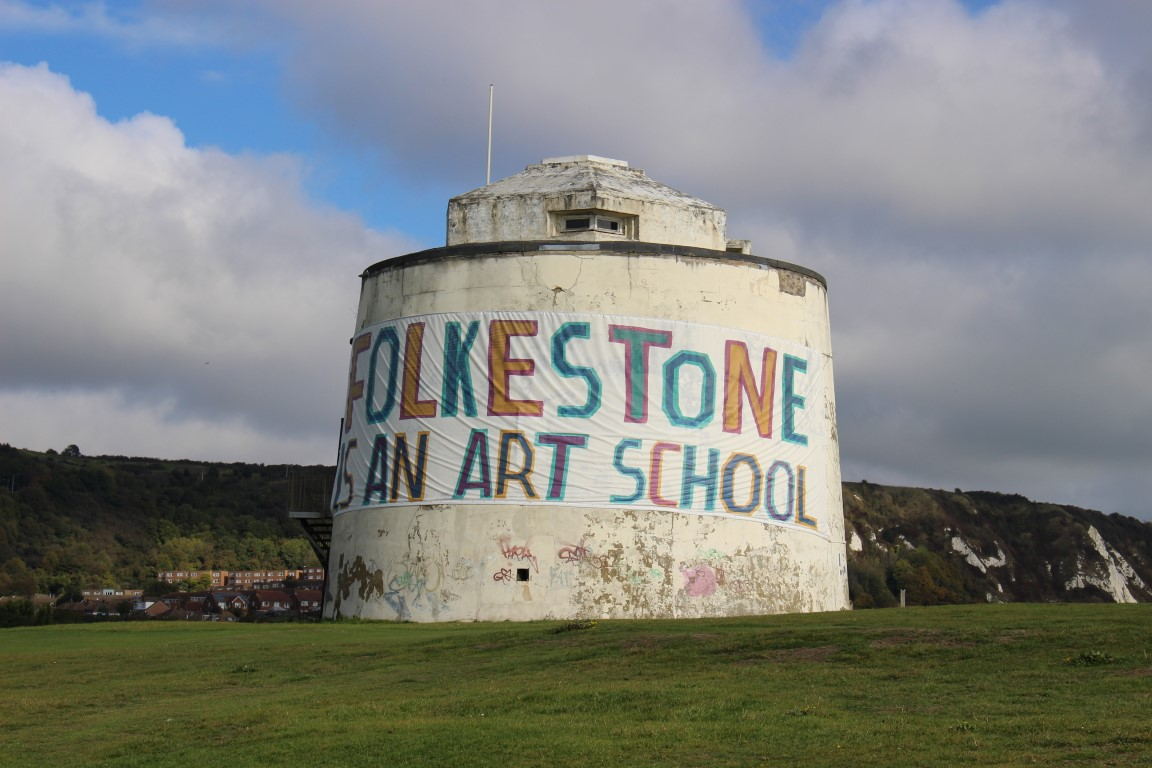 Sehenswürdigkeiten in Folkestone: Mortello - Folkestone is an Art School