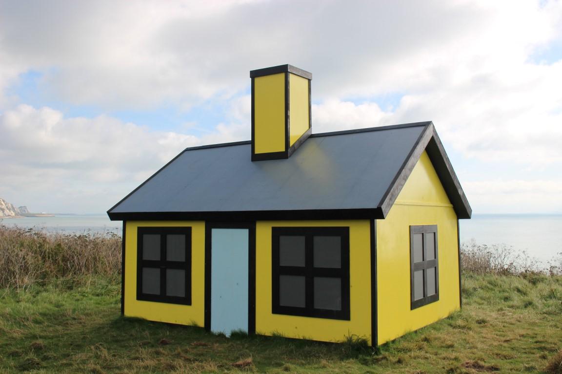 Sehenswürdigkeiten in Folkestone: Ausstellungsstück Haus - Folkestone is an art school.