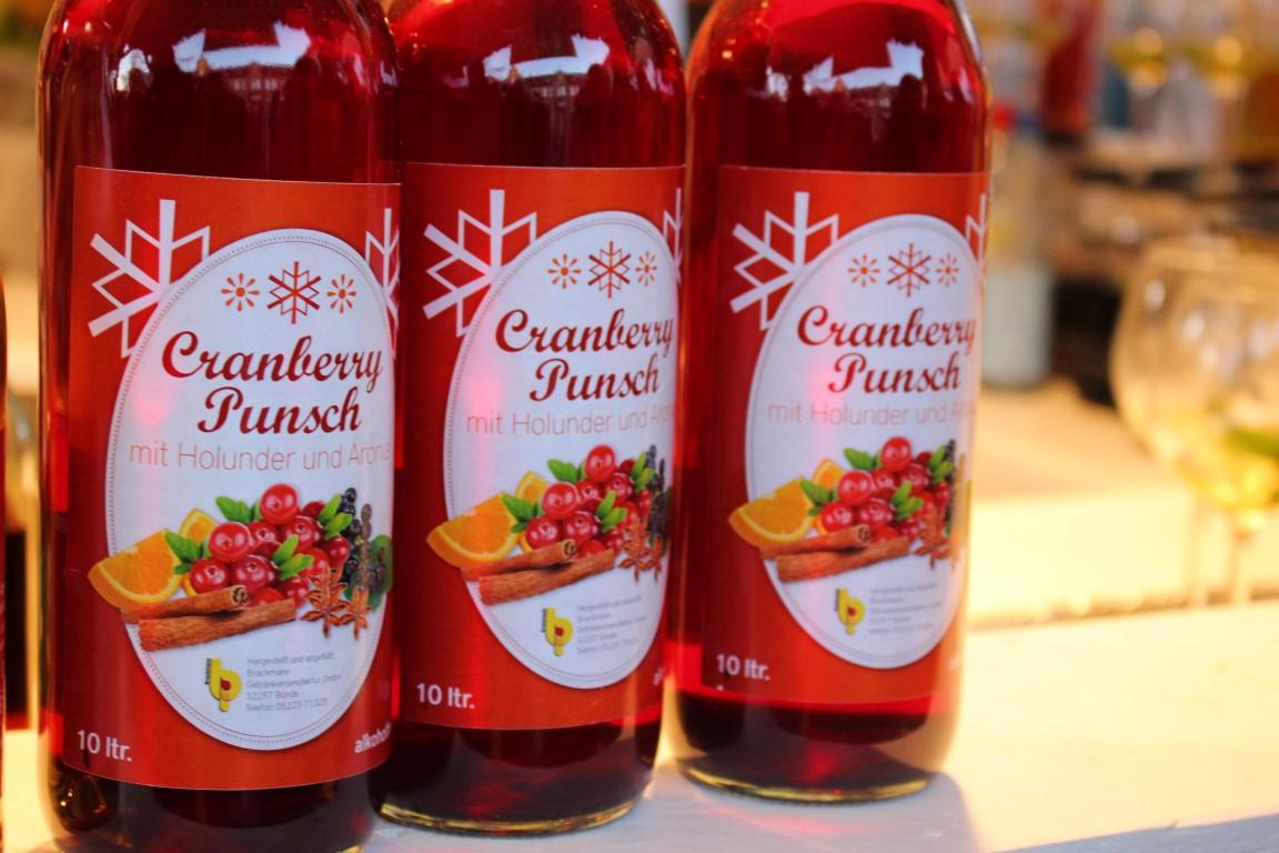 Glühwein bei Weihnachtsmärkten auf Schlössern