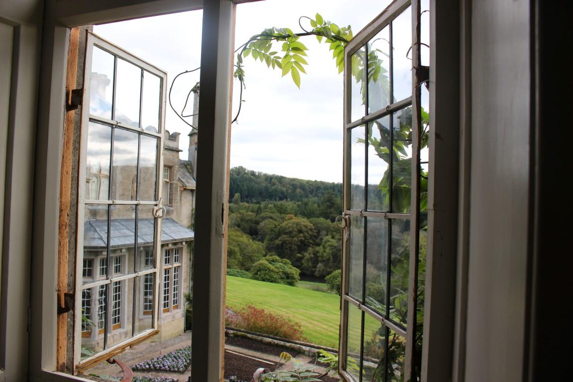 Blick aus der Suite im Hotel Endsleigh