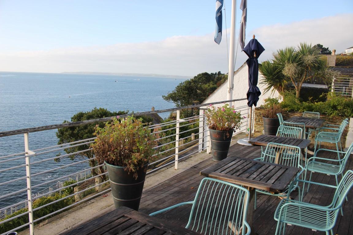 Hotel Tresanton in Cornwall mit tollem Blick über die Südküste Englands
