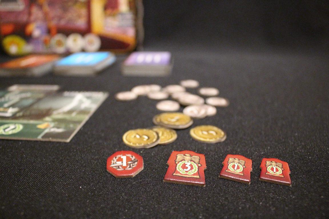 Geld bei 7 Wonders