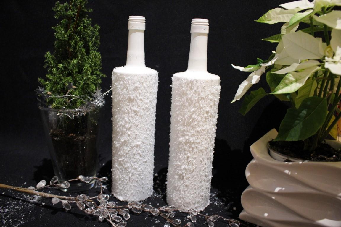 Anzeige diy weihnachtsdeko mit weinflaschen von bree wein chocolate babka - Weinflaschen deko ...