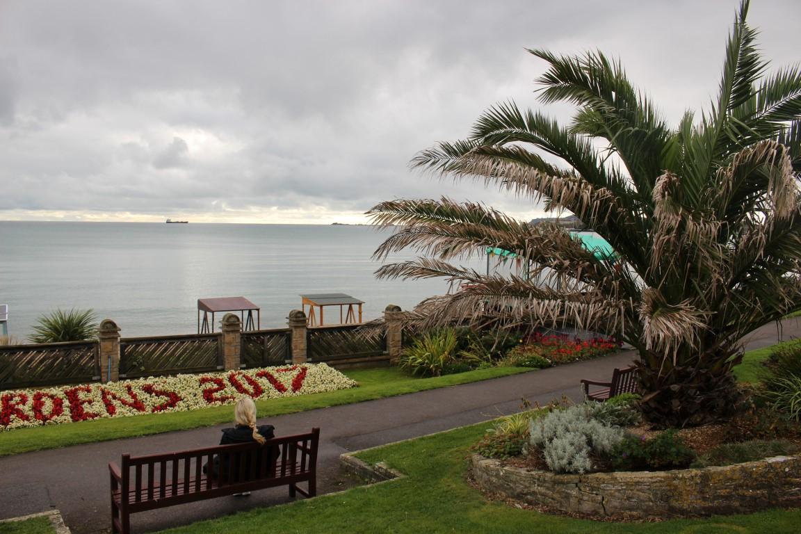 Weymouth - Blick auf die Südküste Englands