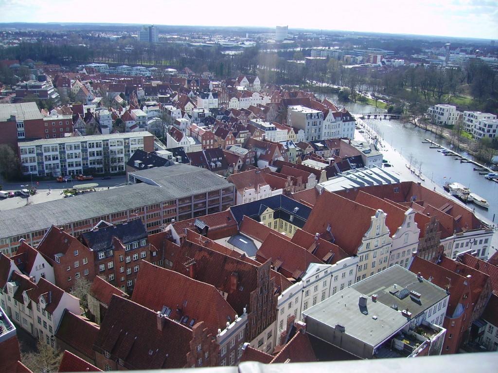 Classic Facades in Lübeck