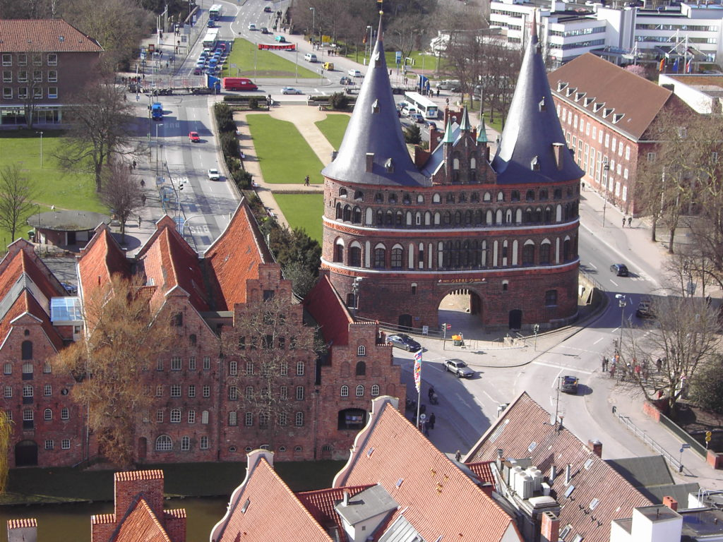Lübeck - Holsten Gate