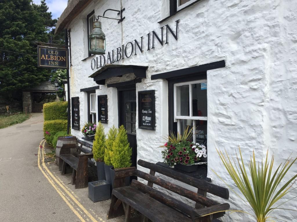 Ein Inn in Crantock bei Newquay, Cornwall