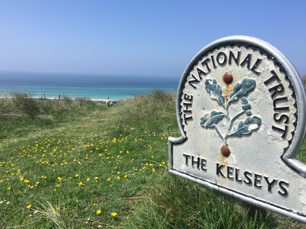 Küstenwanderweg im wunderschönen Cornwall
