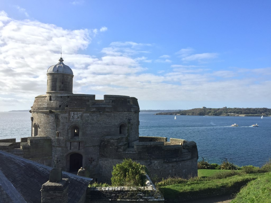 St Mawes Castle bei Truro, wunderschönes Cornwall