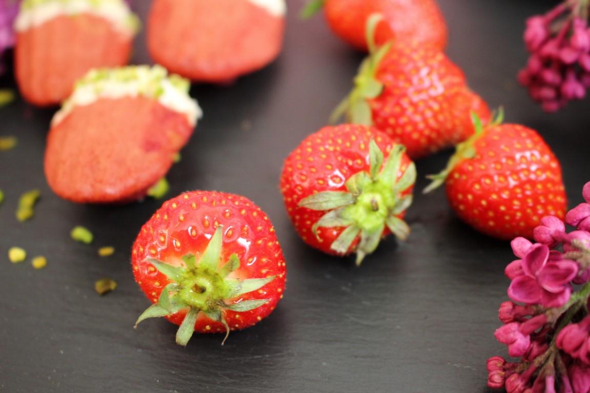 Erdbeer Madeleines Rezept []Vegan]
