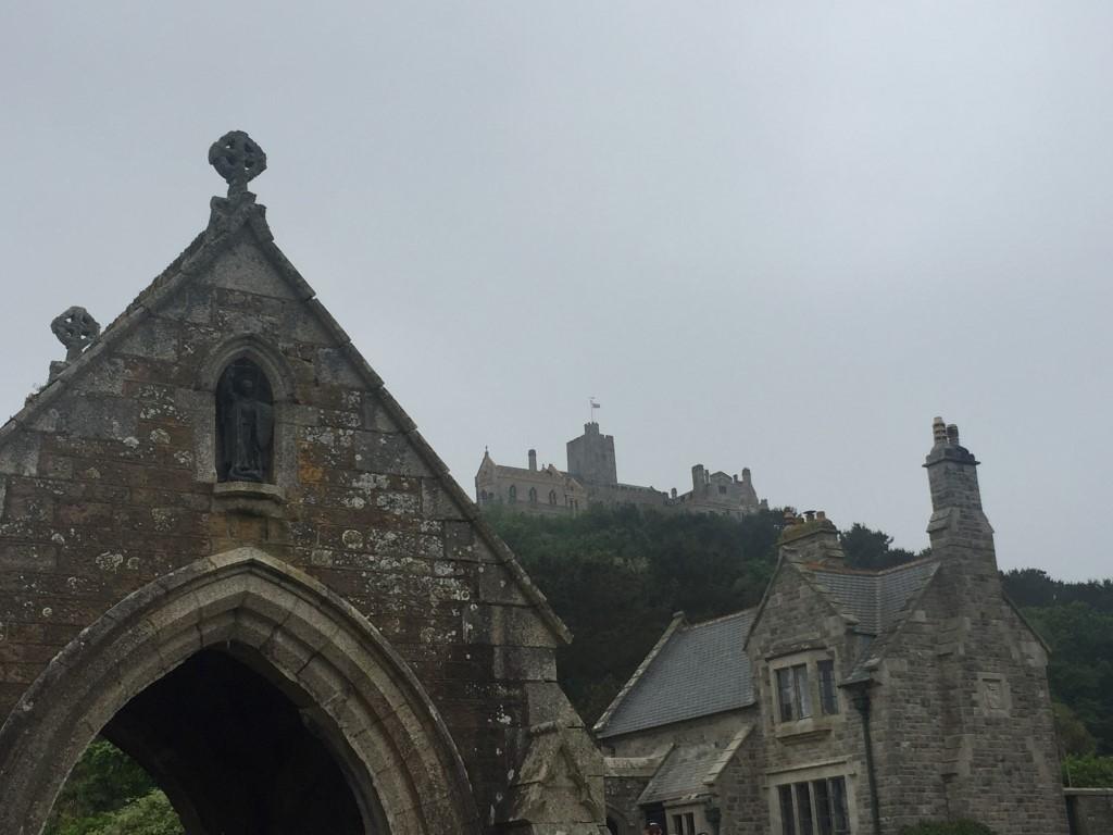 Das Schloss auf dem St. Michaels Mount