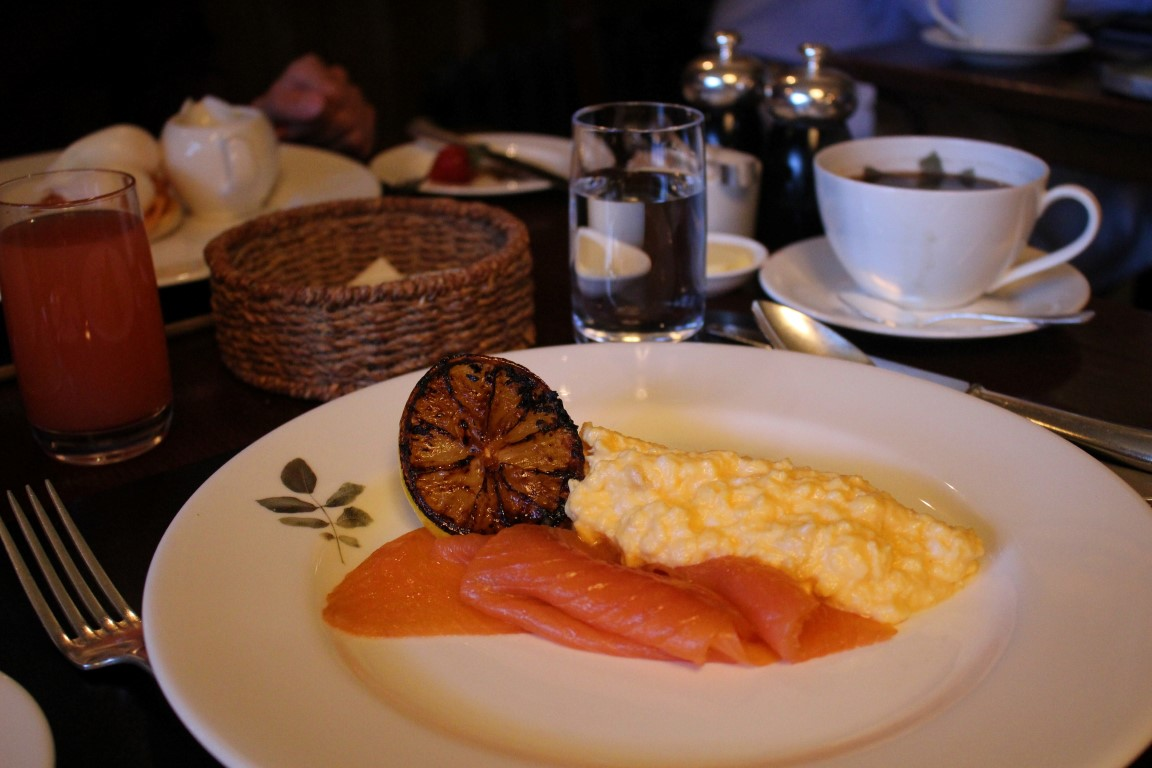 Smoked Salmon im English Breakfast
