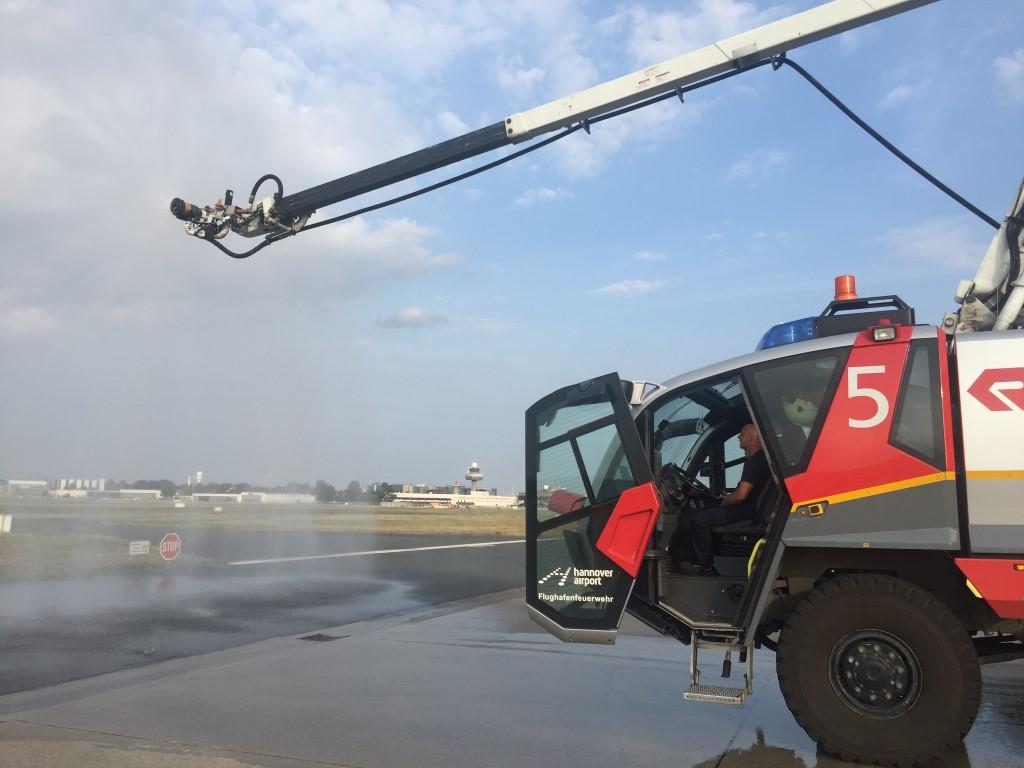 Sicherheit am Hannover Flughafen: Feuerwehr