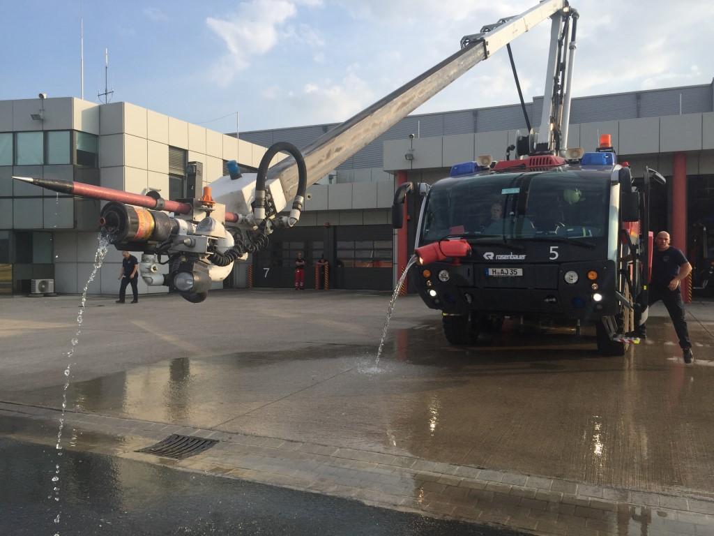 Sicherheit am Hannover Flughafen