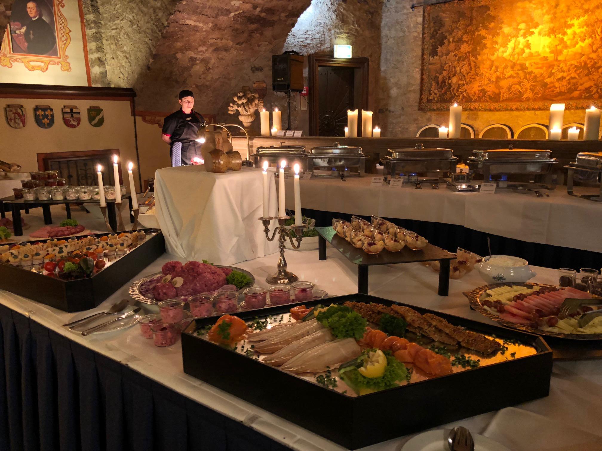 Fine Dining Hotel Maritim Fulda - Tafel Detail