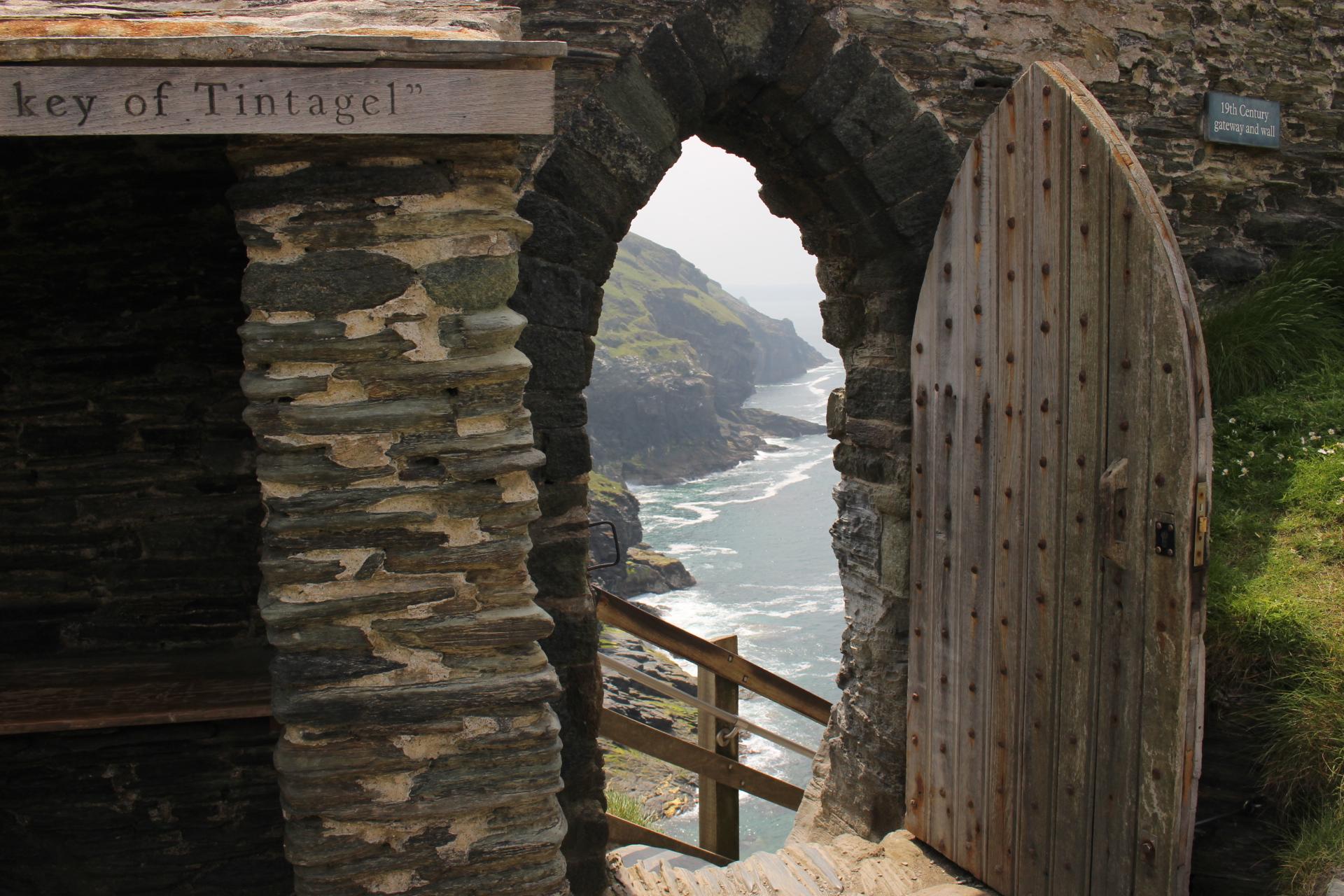 Tipps in Tintagel Castel