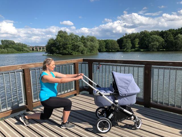 Kinderwagen-Workout: Fitness-Übungen und Tipps nach dem Kaiserschnitt, Obersee Bielefeld
